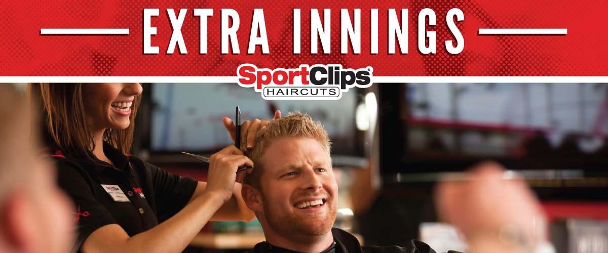 The Sport Clips Haircuts of West Valley Extra Innings Offerings