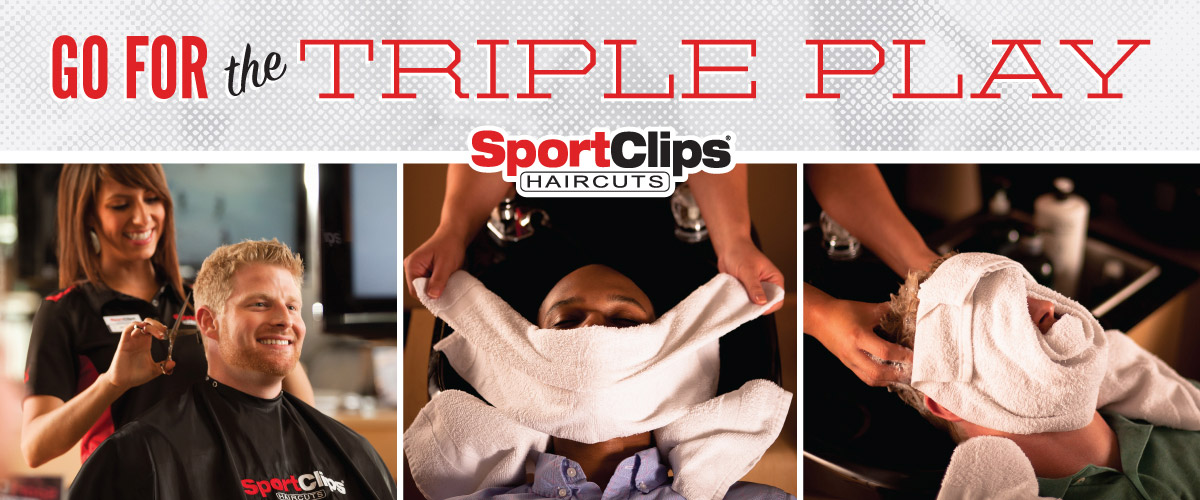 The Sport Clips Haircuts of West Valley Triple Play