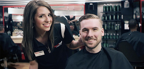 Sport Clips Haircuts of West Valley​ stylist hair cut